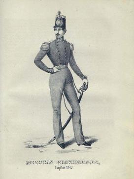 capitan milicias provinciales 1842-001