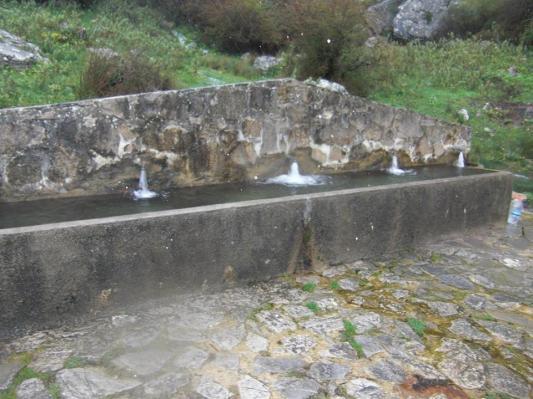 El Aguan Fría en la actualidad.  Foto de Manuel García Castro