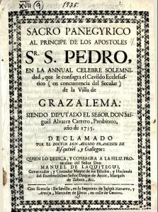 sermon san pedro