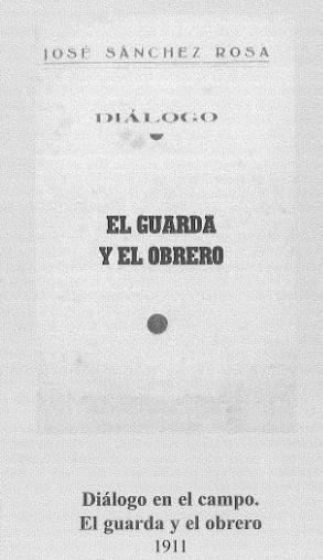 DIALOGOS EL GUARDA Y EL OBRERO