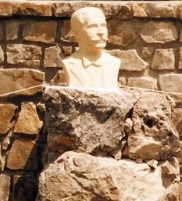 inauguración del busto de Sánchez Rosa en la Plaza de La Asamblea