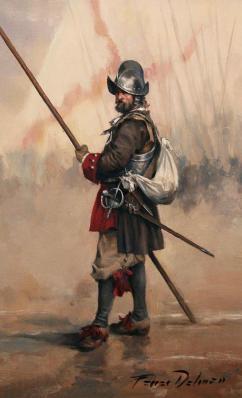 soldado-tercios-augusto-ferrer-dalmau